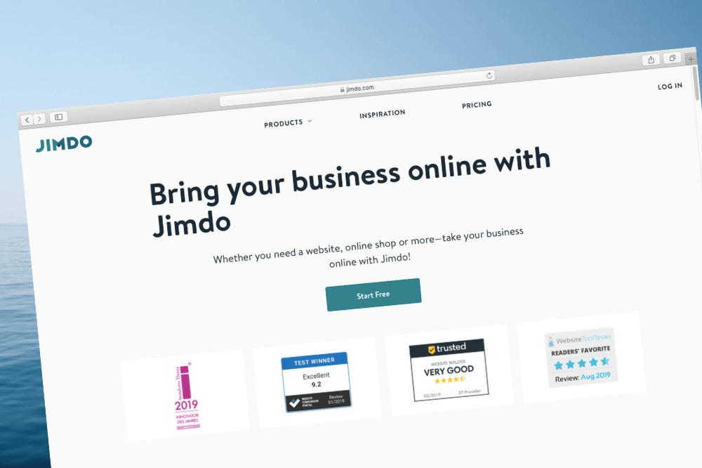 Jimdo AI-Based Website Builder